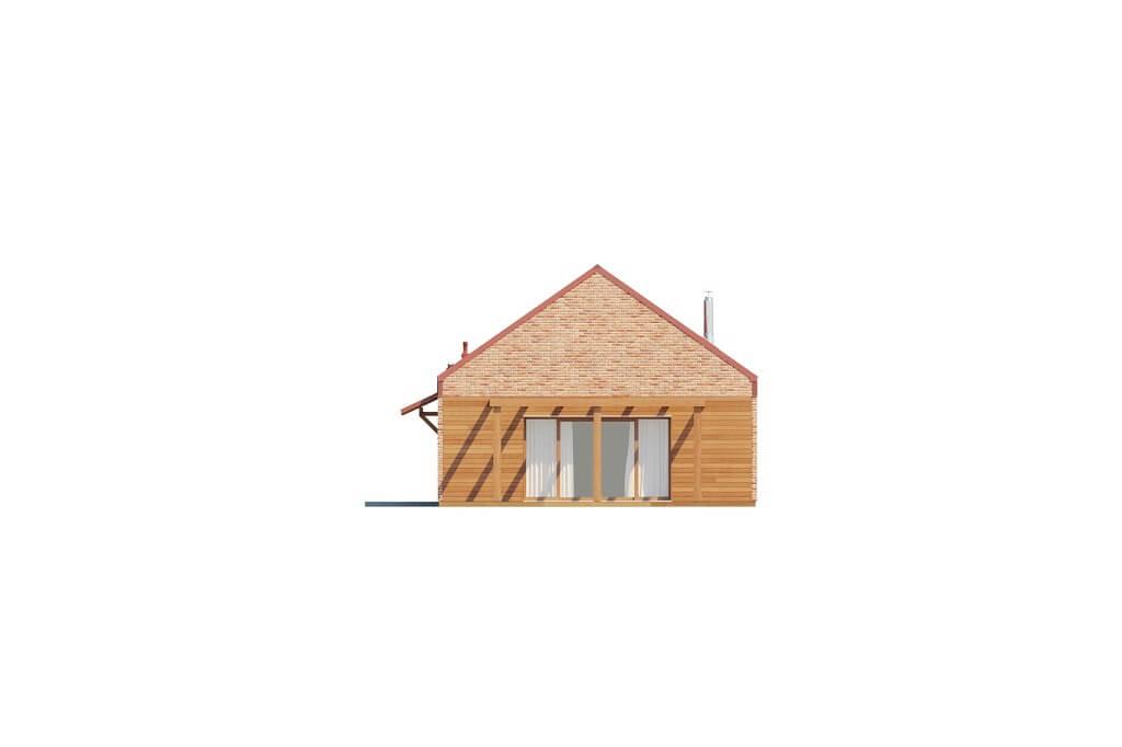 Projekt domu DM-6650 - elewacja
