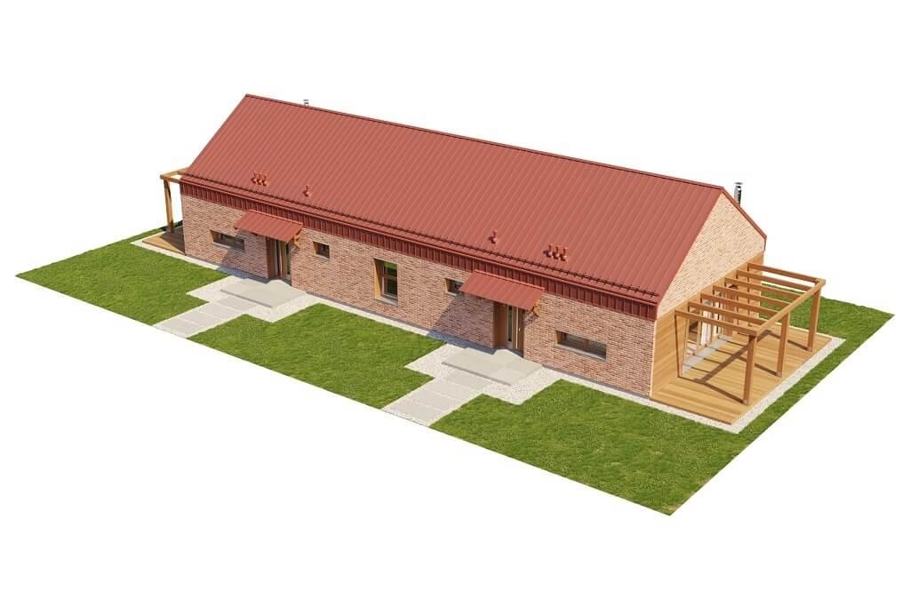 Projekt domu L-6650 - model