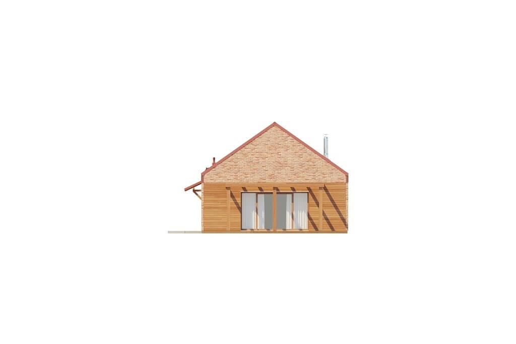 Projekt domu L-6650 - elewacja