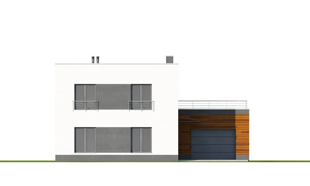 Projekt domu DM-6644 - elewacja