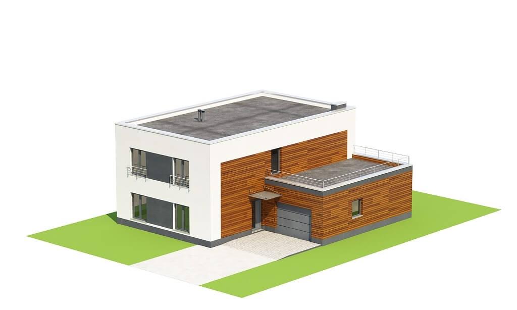 Projekt domu DM-6644 - model