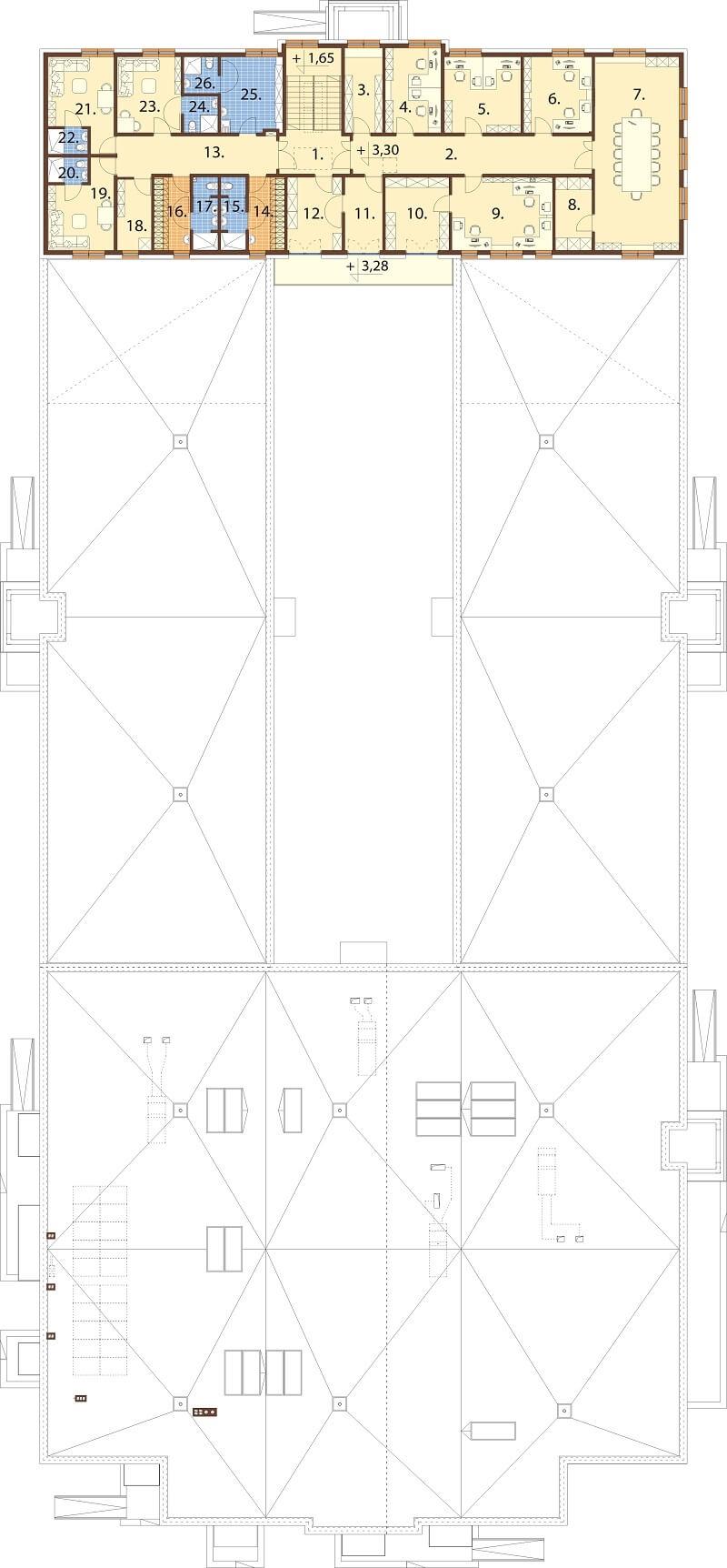 Projekt K-109 - rzut