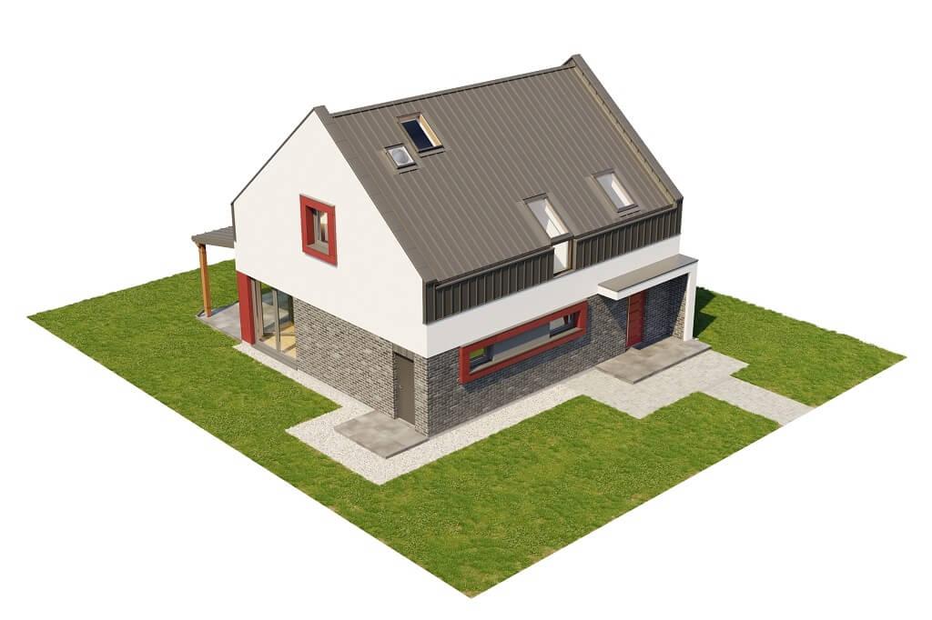 Projekt domu DM-6659 - model