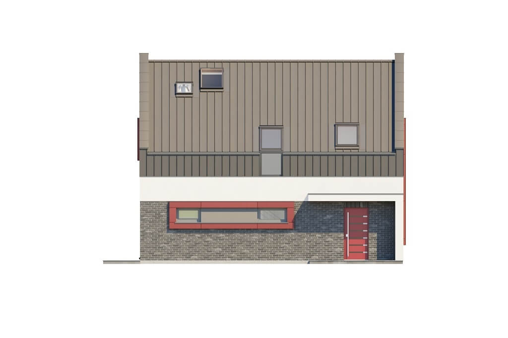 Projekt domu DM-6659 - elewacja