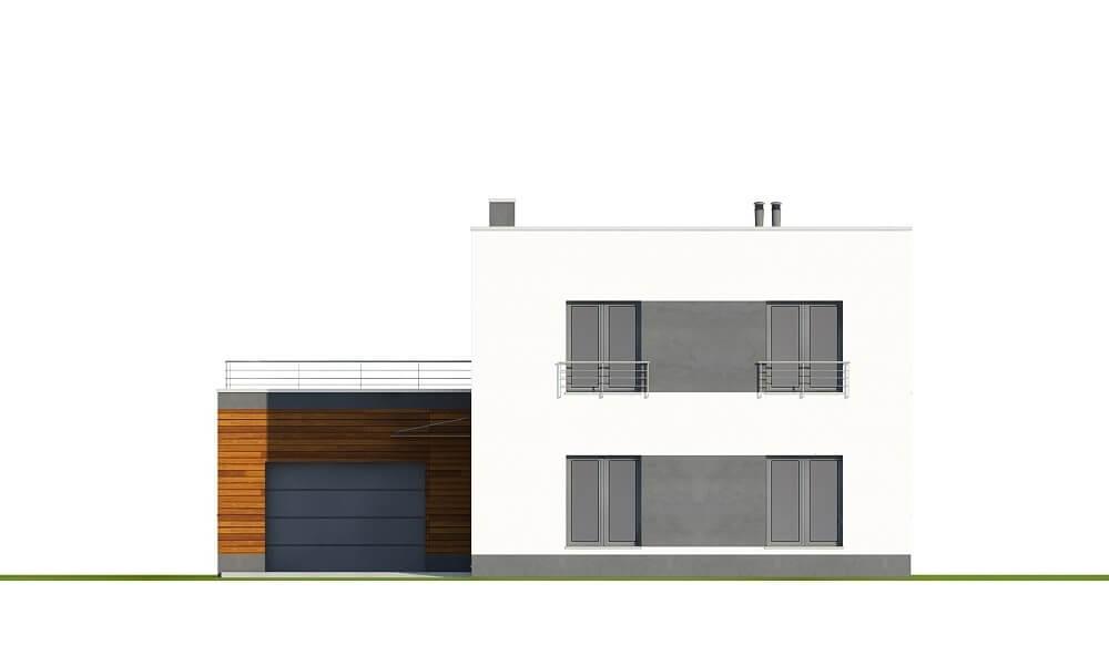 Projekt domu L-6644 - elewacja