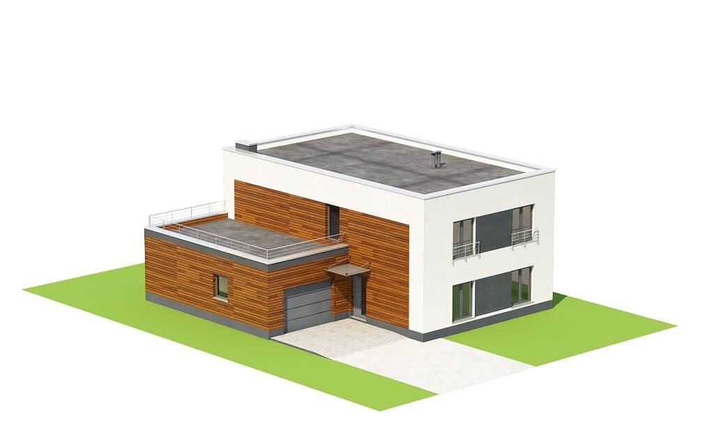 Projekt domu L-6644 - model