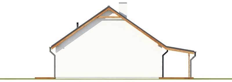 Projekt domu DM-6660 - elewacja
