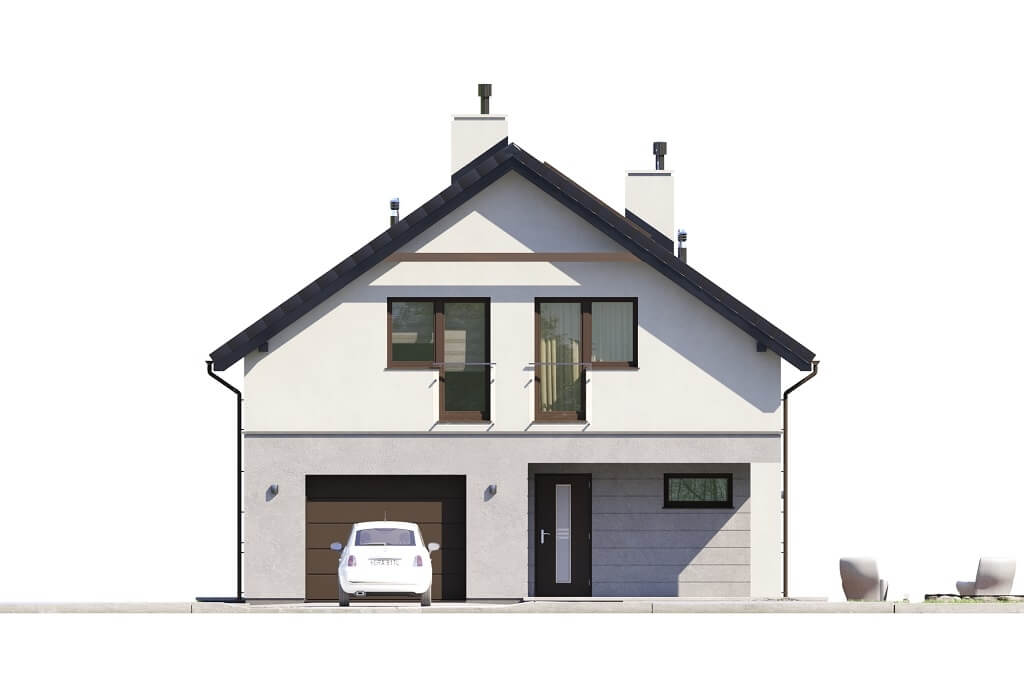 Projekt domu DM-6648 - elewacja