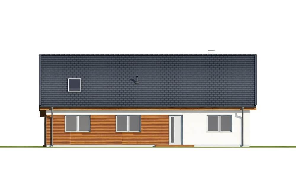 Projekt domu L-6660 - elewacja