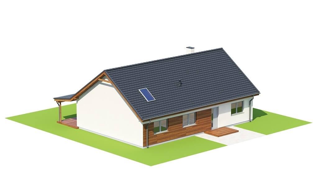 Projekt domu L-6660 - model