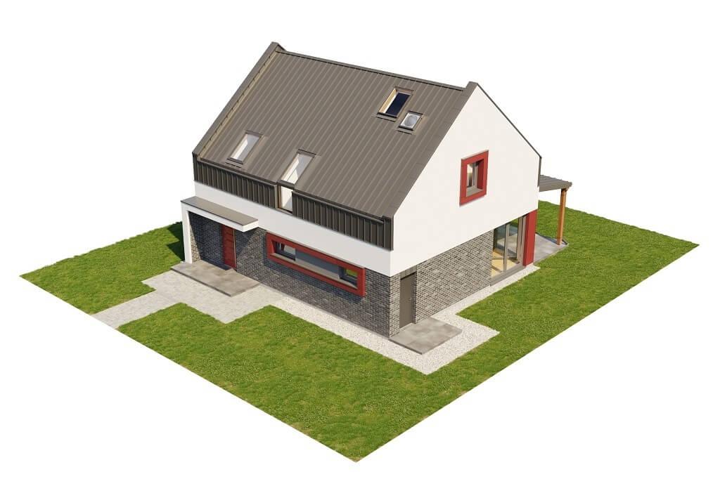 Projekt domu L-6659 - model