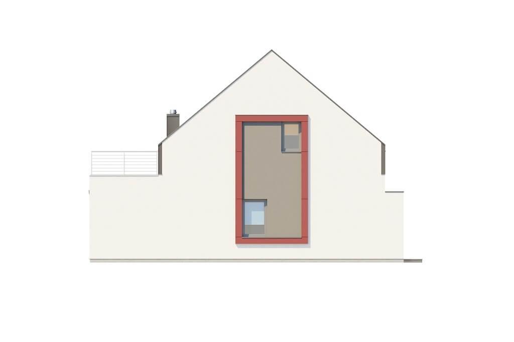 Projekt domu L-6659 - elewacja