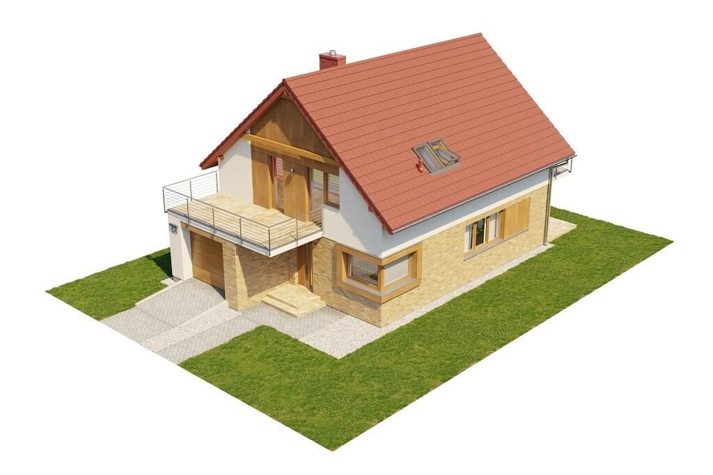 Projekt domu L-6663 - model
