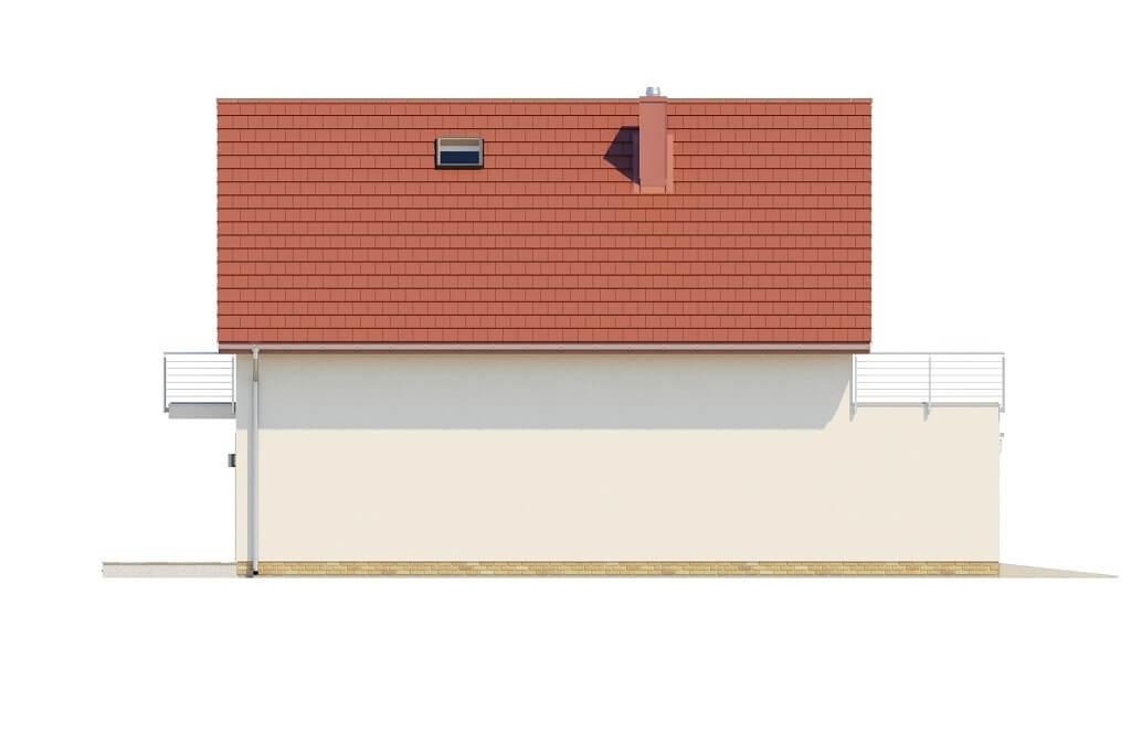 Projekt domu L-6663 - elewacja