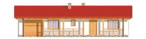 Projekt domu DM-6307 - elewacja