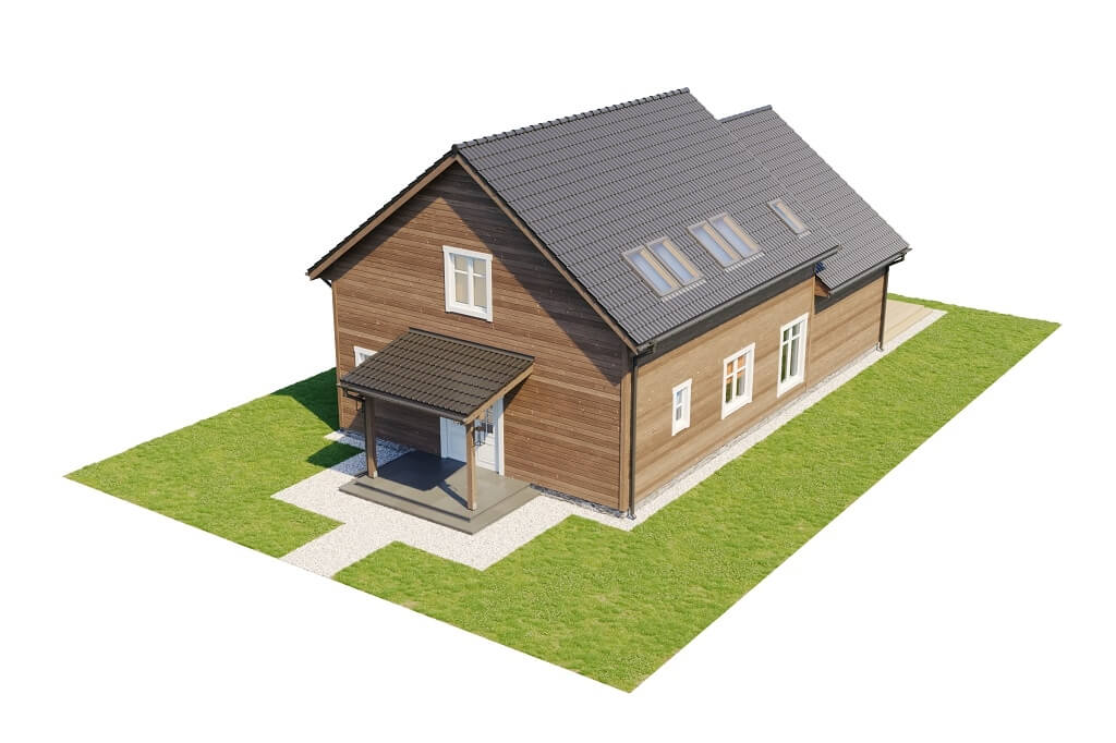 Projekt domu DM-6658 - model