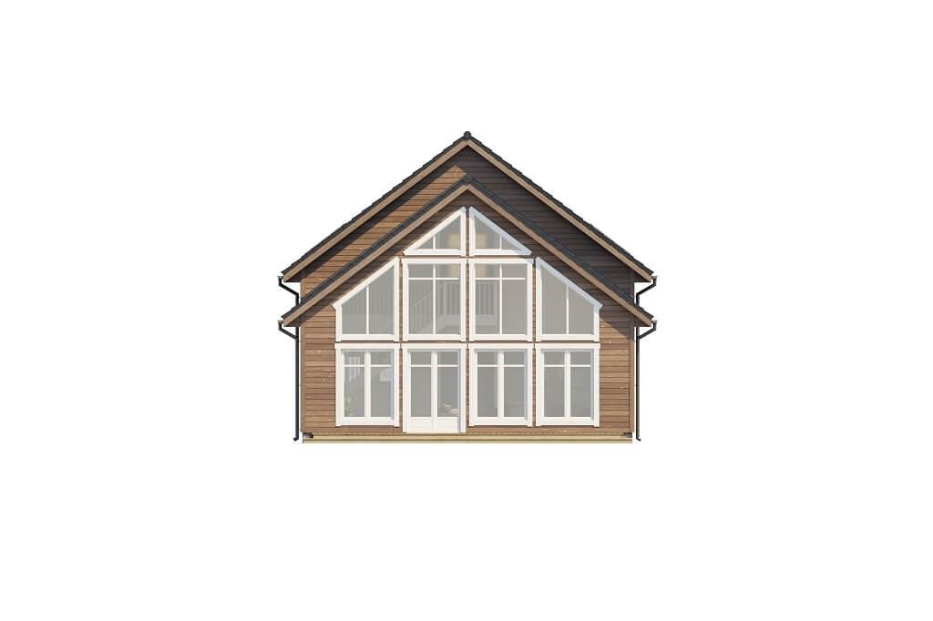 Projekt domu DM-6658 - elewacja
