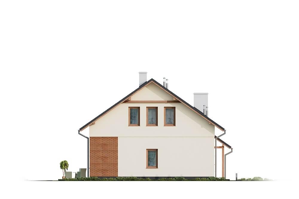 Projekt domu DM-6671 - elewacja