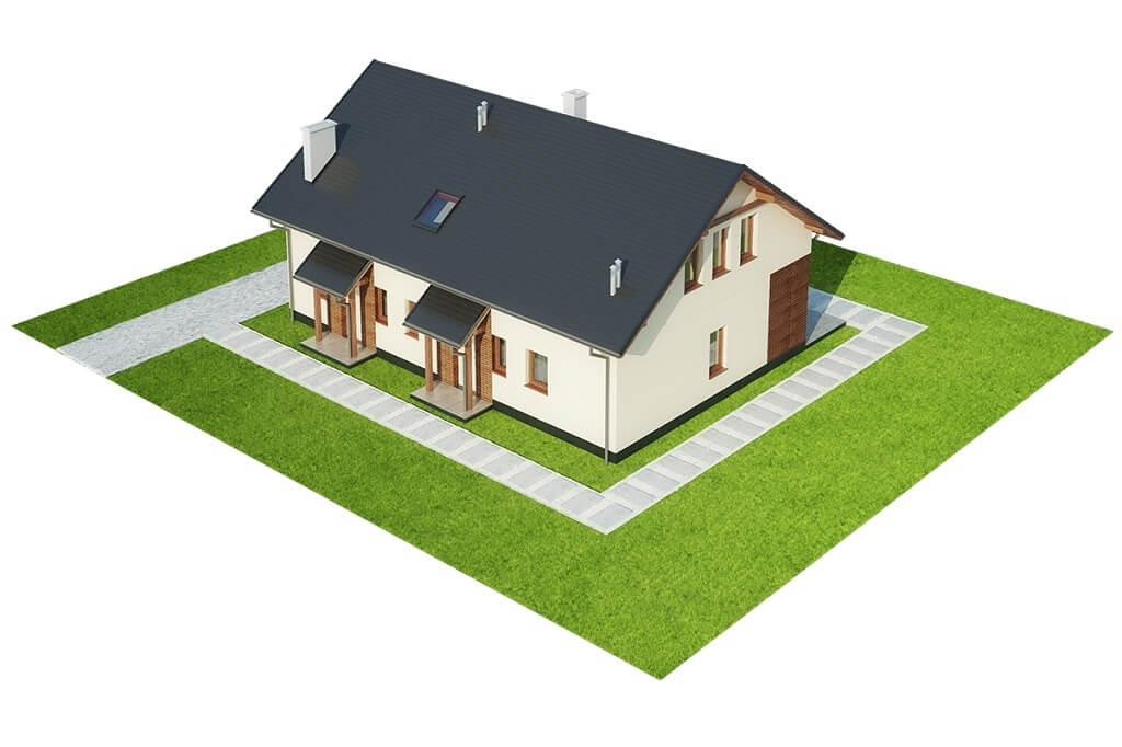 Projekt domu DM-6671 - model