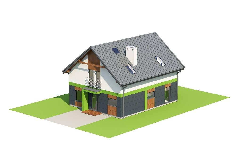 Projekt domu DM-6674 - model