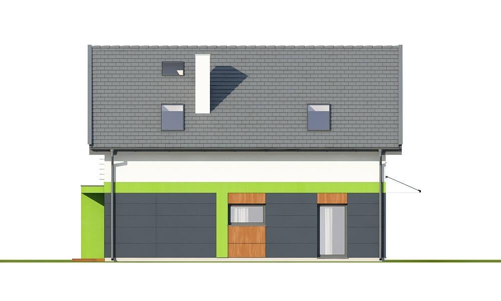 Projekt domu DM-6674 - elewacja