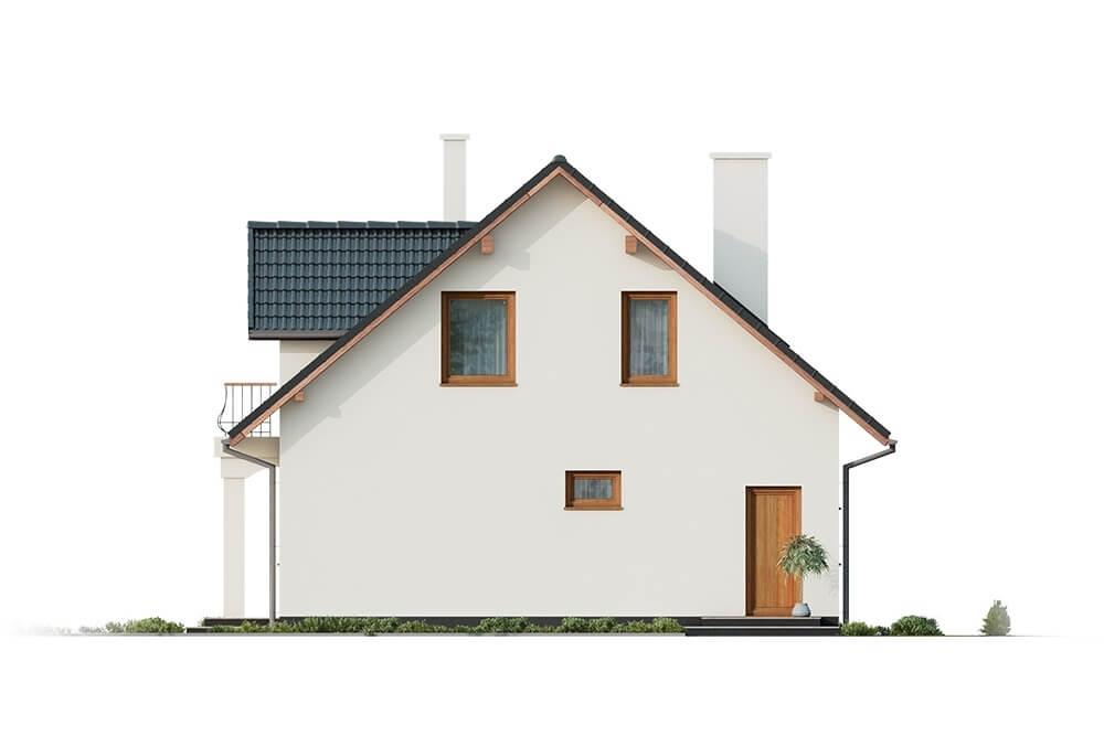 Projekt domu DM-6677 - elewacja