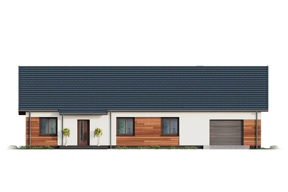 Projekt domu DM-6678 - elewacja