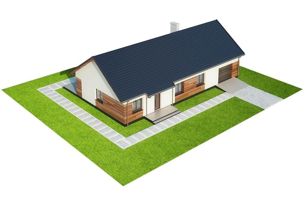 Projekt domu DM-6678 - model