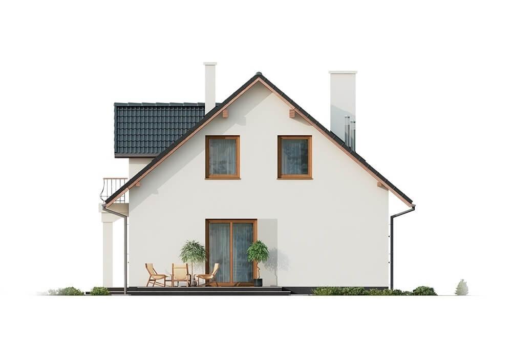 Projekt domu L-6677 - elewacja