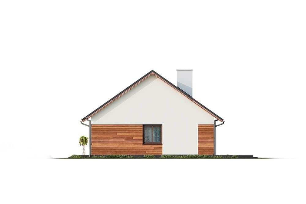 Projekt domu L-6678 - elewacja