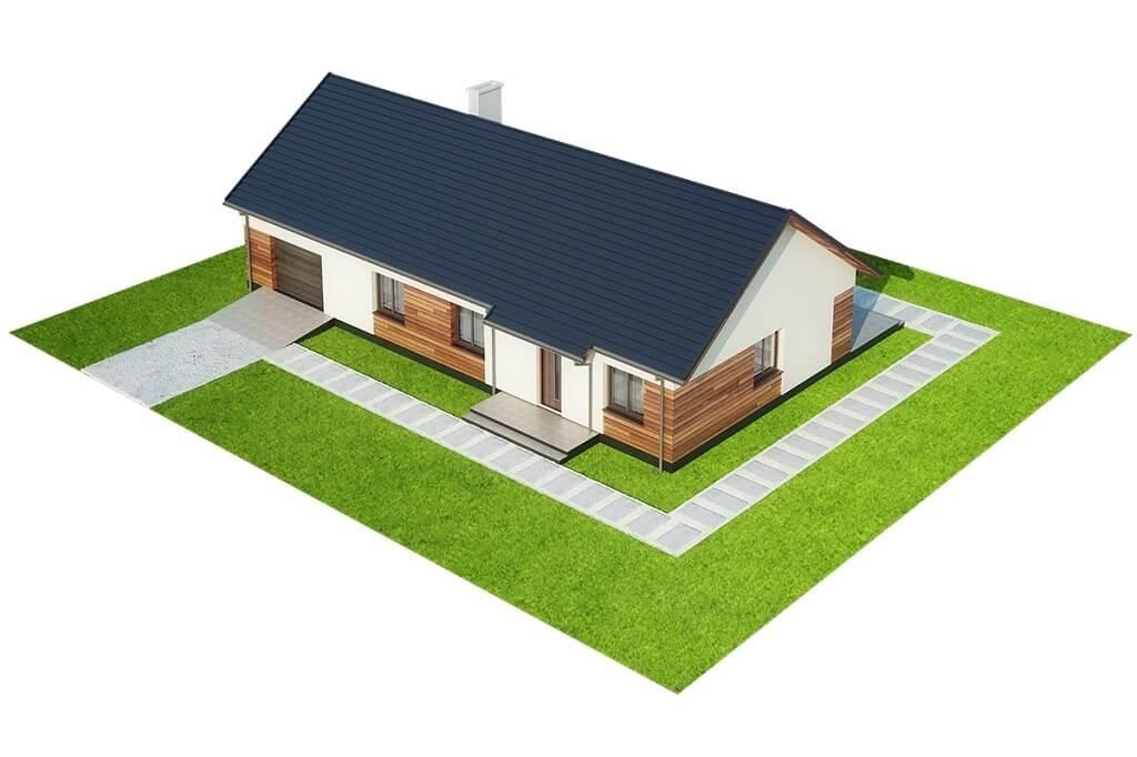 Projekt domu L-6678 - model