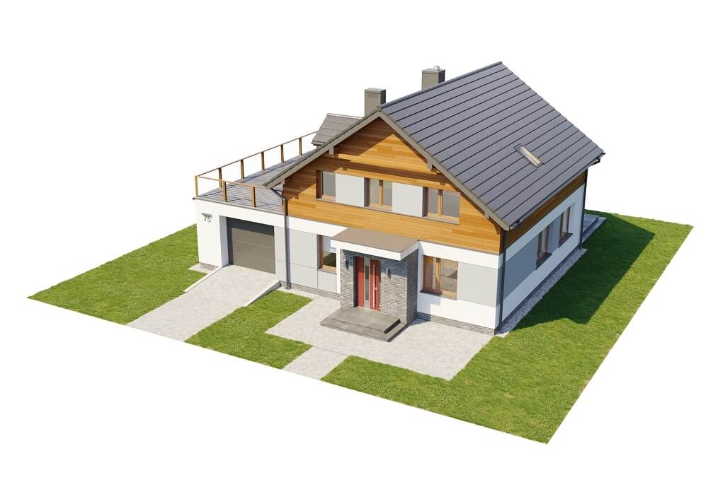 Projekt domu DM-6675 - model