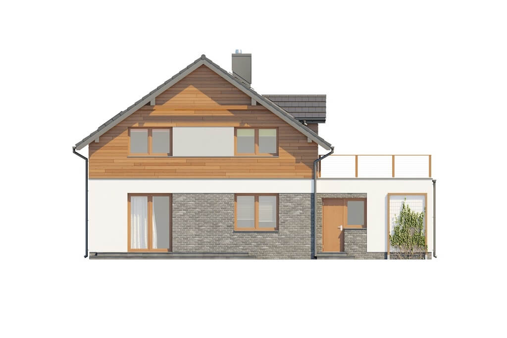 Projekt domu DM-6675 - elewacja