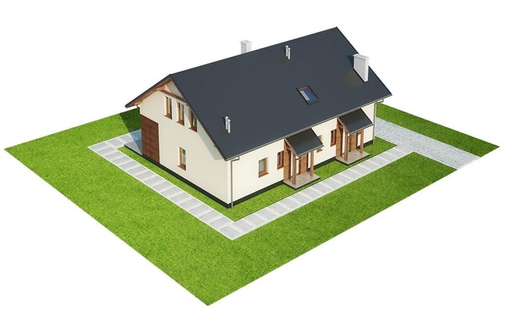 Projekt domu L-6671 - model