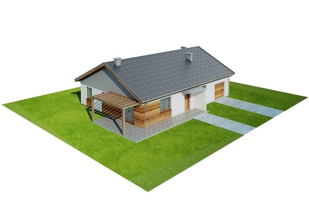 Projekt domu L-6661 - model