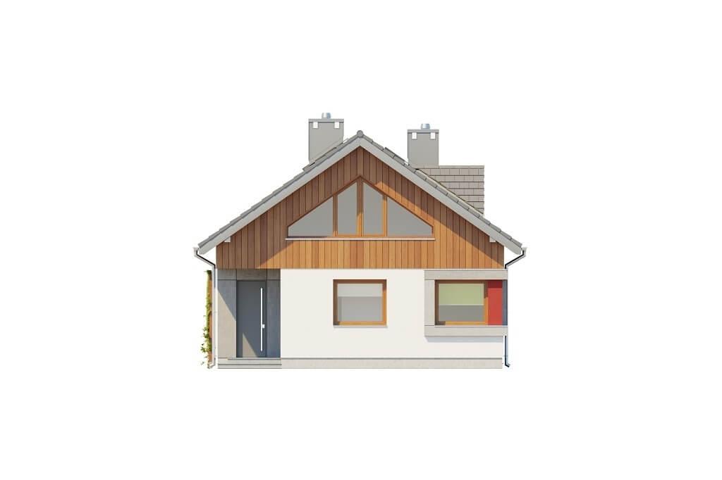 Projekt domu L-6662 - elewacja