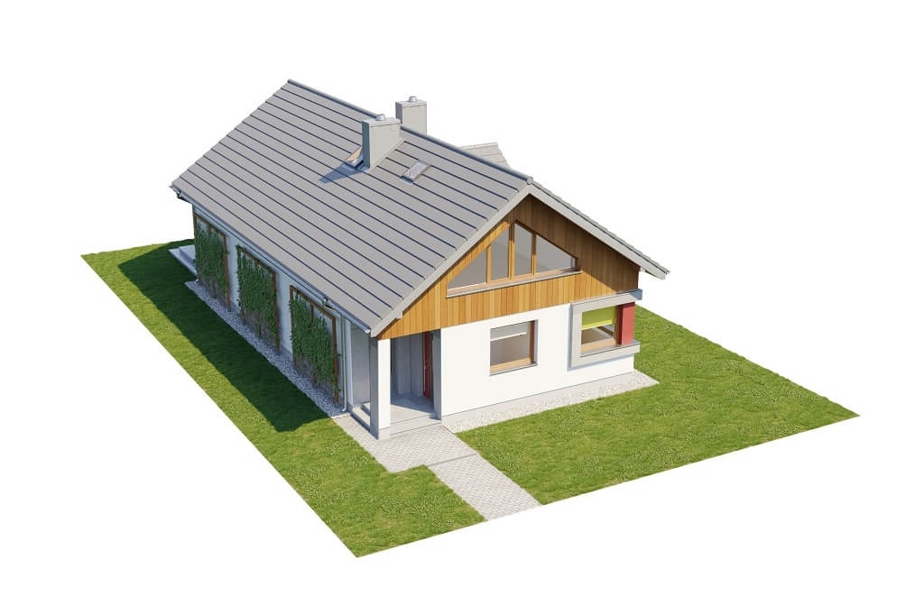 Projekt domu L-6662 - model