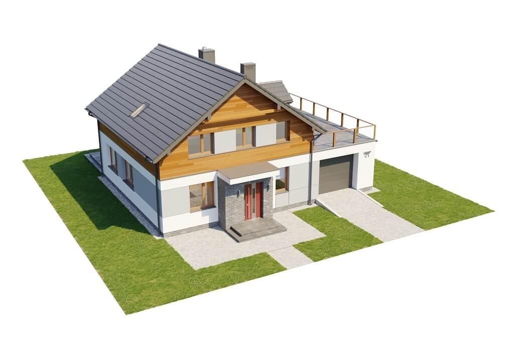 Projekt domu L-6675 - model