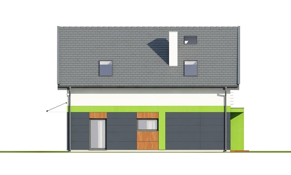 Projekt domu L-6674 - elewacja