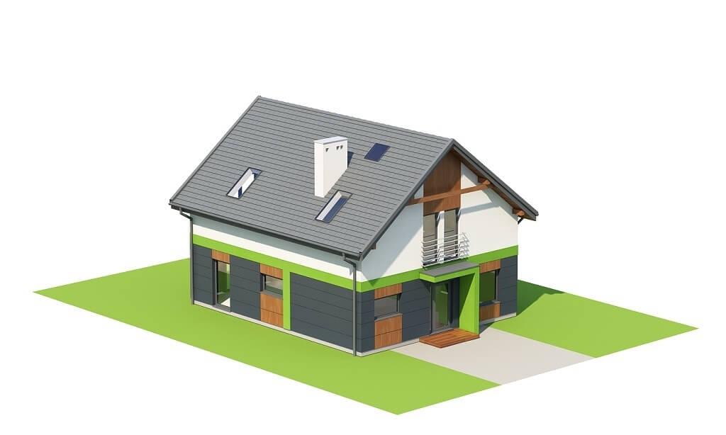 Projekt domu L-6674 - model