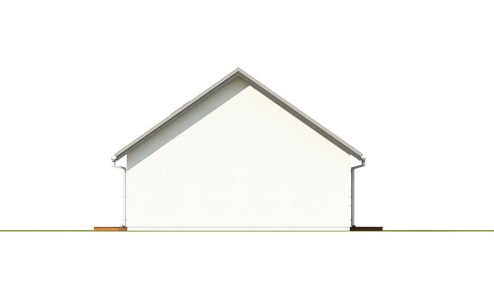Projekt domu DM-6691 - elewacja