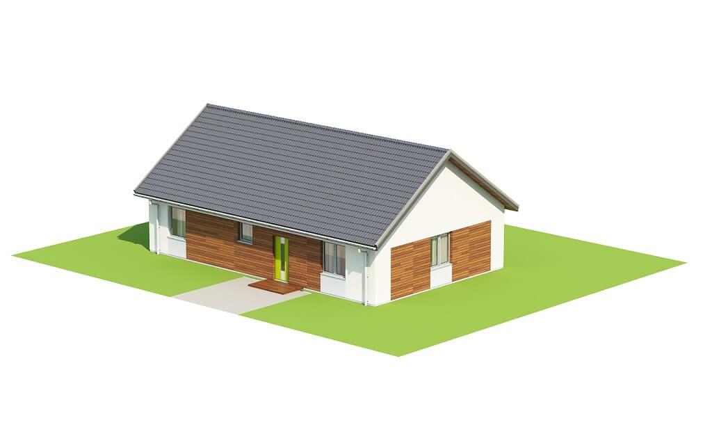 Projekt domu DM-6691 - model
