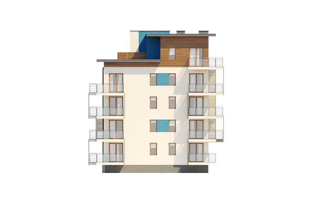 Projekt domu DM-6670 - elewacja