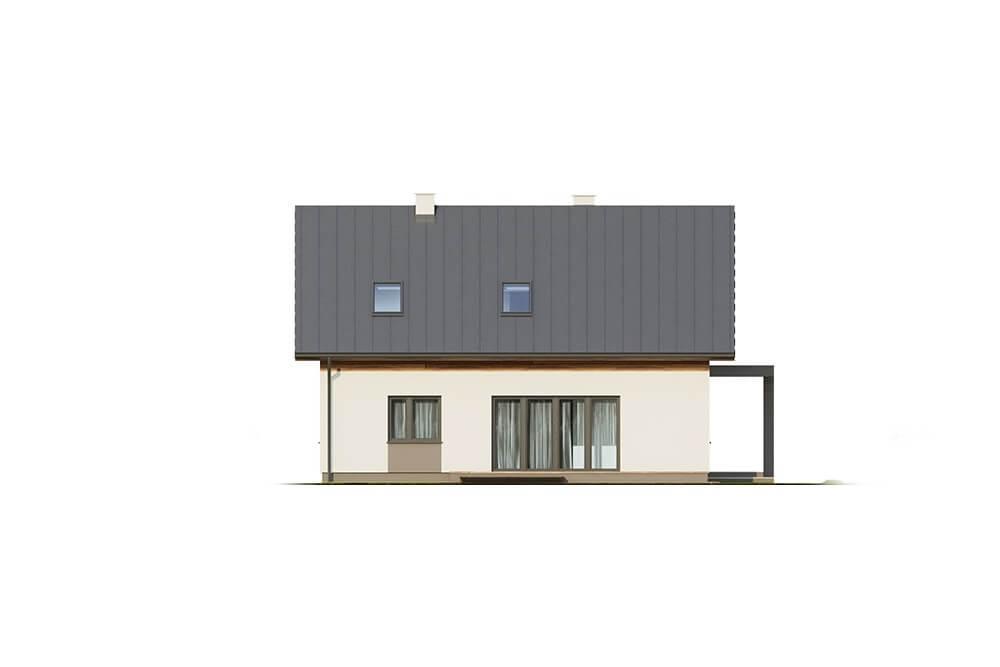 Projekt domu DM-6664 - elewacja