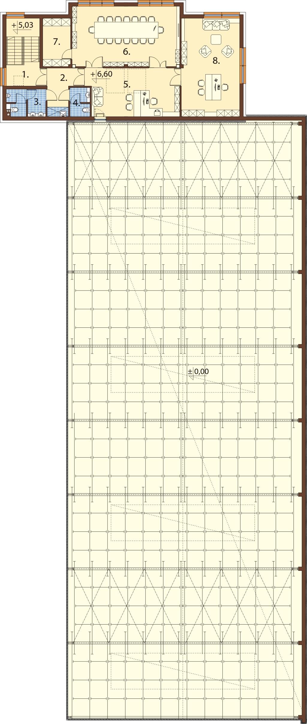 Projekt K-119 - rzut