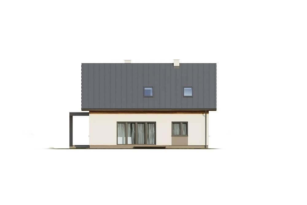 Projekt domu L-6664 - elewacja
