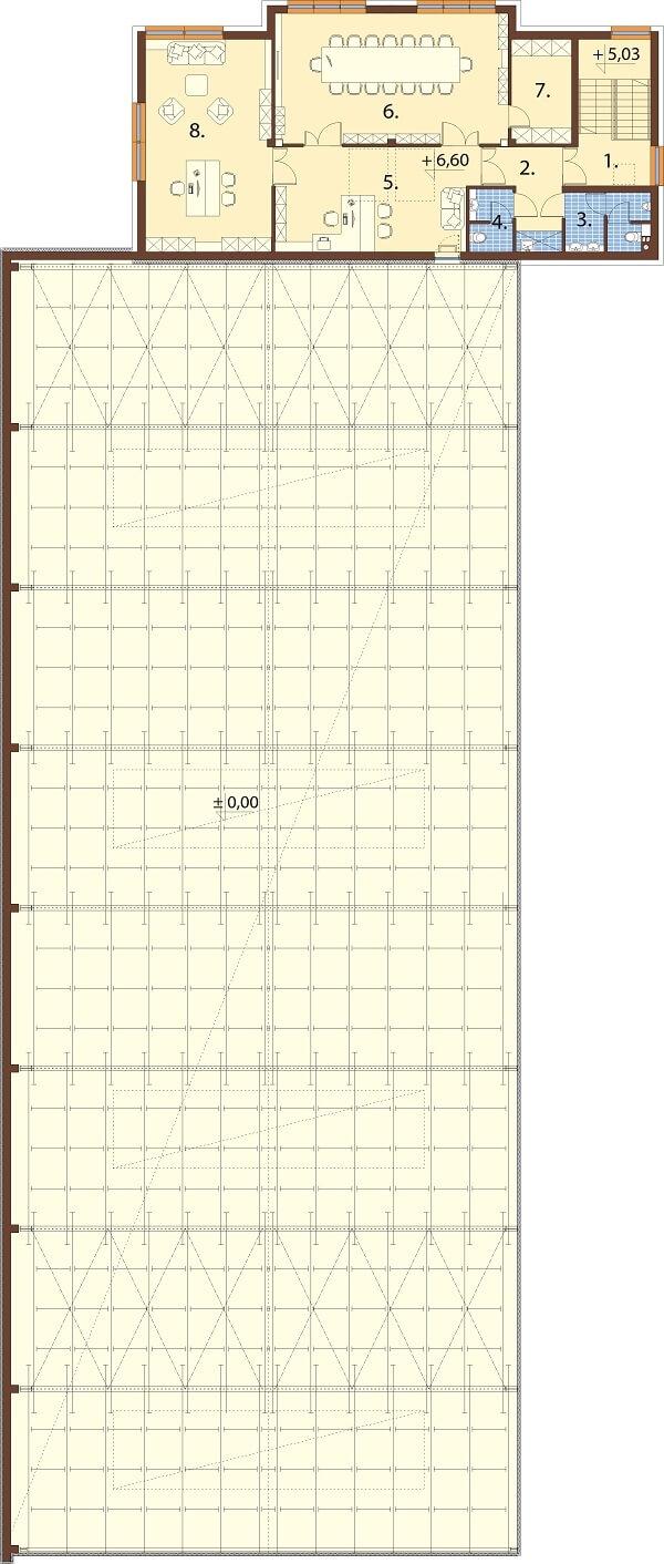 Projekt LK-119 - rzut