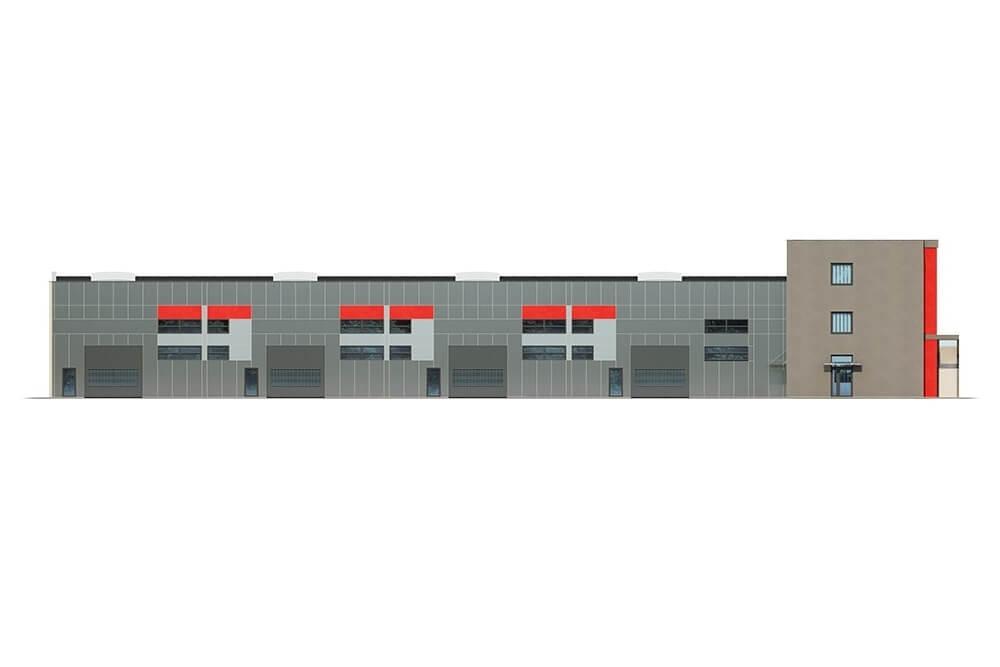 Projekt LK-119 - elewacja