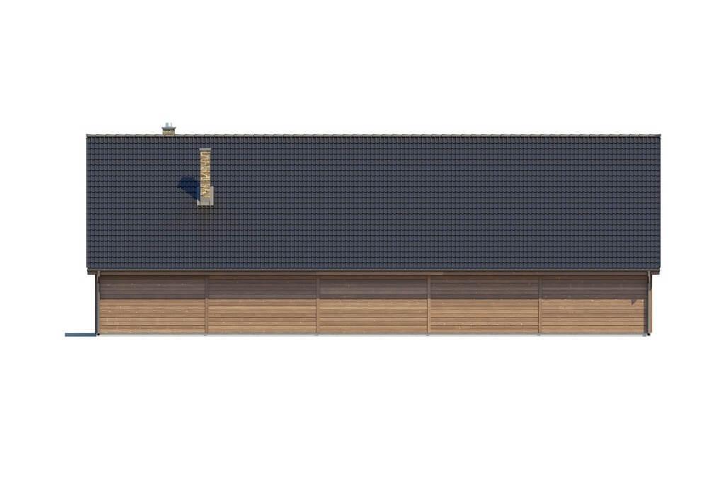 Projekt K-123 - elewacja