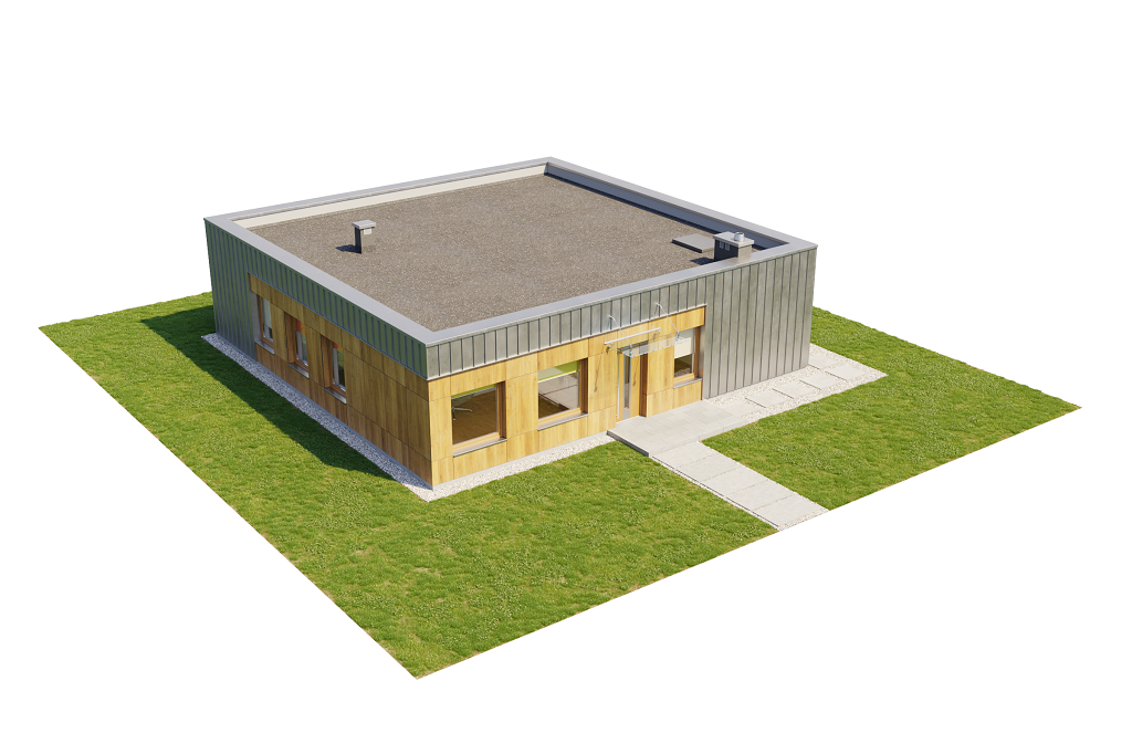 Projekt domu DM-6643 - model